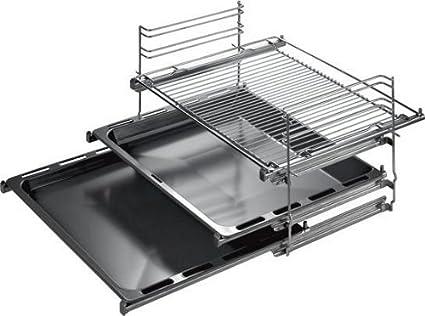 Bosch HEZ368301- Sistema de tres niveles de guías telescópicas para el horno (Cocina /