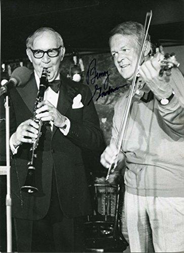 benny goodman autograph - 1