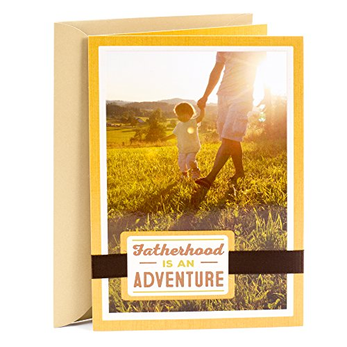 (Hallmark Father's Day Greeting Card for New Dad (Many Adventures Ahead, Father and Child)