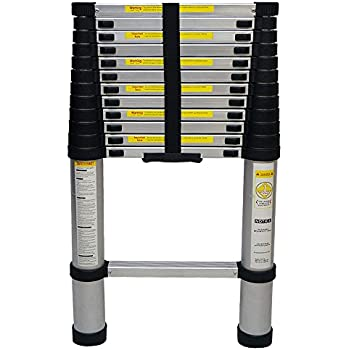 Yi Hai En131 12 5ft Portable Aluminium Telescoping Ladder