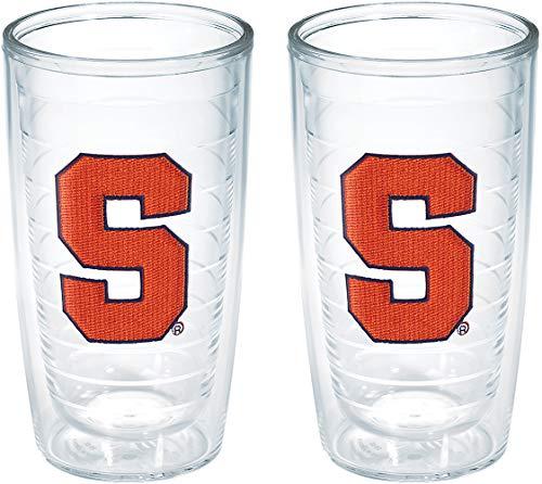 Tervis Syracuse University Emblem Tumbler (Set of 2), 16 oz, Clear ()