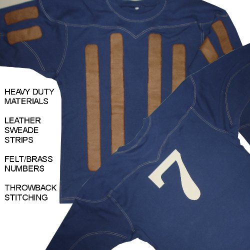 LEATHERHEADS JERSEY Jimmy 'Dodge' Connelly Throwback Jersey (Throwback Movie Costumes)
