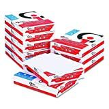 Office Impressions Multipurpose 20 lb 8 1/2 x 11 Inch Copy Paper 5000 Sheets (82392)