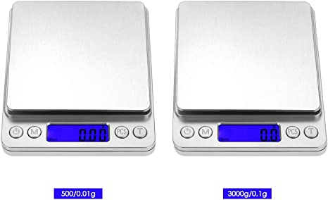 Electronic 500//3000g Mini Digital Jewelry Accurate LCD Food Kitchen Weight
