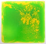 Liquid Floor Tile, Color Dynamic Dance Floor by Playlearn (Green / Yellow)