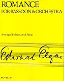 Elgar, E Romance for Bassoon and Orchestra Bsn/Pf, , 0853604401