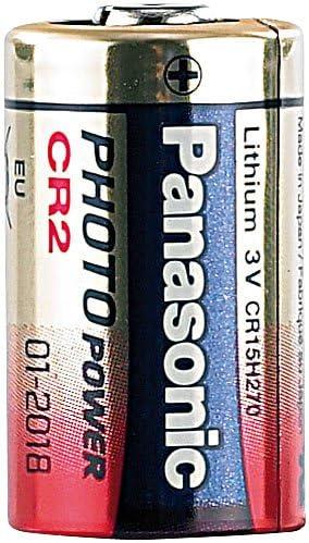 Panasonic Photo Lithium Batterie Cr2 3v 850 Mah Elektronik