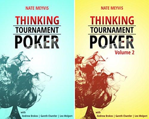 Thinking Tournament Poker (2 Book Series)