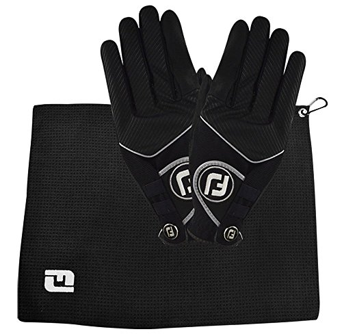 FootJoy Golf Rain-Ready Rain Grip Golf Glove Bonus Pack, Medium Large