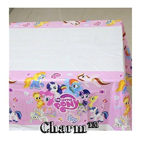 Pony Set of 2 Tablecloths Unicorn Party Tablecloths Plastic 42