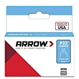 Arrow Fastener 224 Genuine P22 1/4-Inch Staples, 5,050-Pack