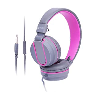 Laploma Trance Wired Headphone with Mic for Smartphones, Android, iphone Black