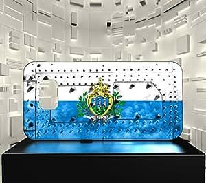 Funda Carcasa para Galaxy S7 Bandera SAN MARINO 06