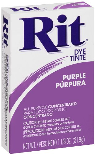 Rit Powder Dye Purple 1.125 Ounces