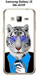 Carcasa para smartphone Samsung Galaxy-J3-SM J3109 6, diseño de Tigre