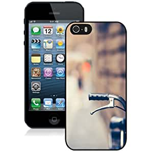 New Personalized Custom Designed For iPhone 5s Phone Case For Bicycle Bokeh Phone Case Cover wangjiang maoyi