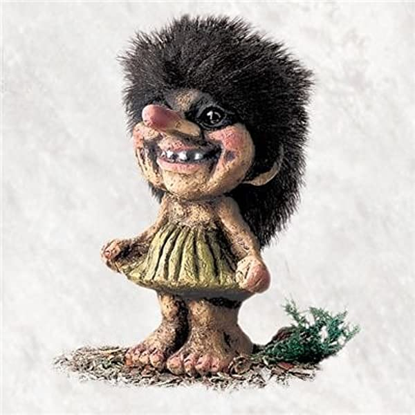Amazon Com Nyform Troll Original Handmade Norway Girl Troll Home Kitchen
