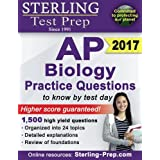 Sterling AP Biology Practice Questions: High Yield AP Biology Questions