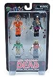 Diamond Comic Distributors TDCO-17 Walking Dead Prison Outbreak Minimates Box Set