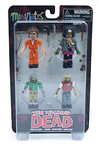 Walking Dead Prison Outbreak Minimates Box Set