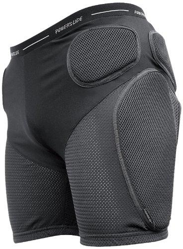 Powerslide Herren Hose Protective Shorts Standard, Schwarz, M, 903104/4