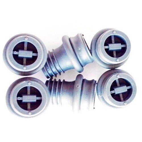Vacuum Pump Vacu Vin Wine Bottle Saver Seals Plugs Extra Rubber Stoppers Set (Vacuum Ring Pump)