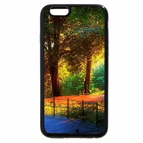 iPhone 6S / iPhone 6 Case (Black) colorful park