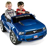 Fisher-Price Power Wheels Blue Ford Mustang