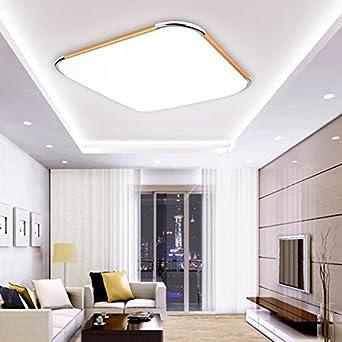 48W LED Deckenleuchte Büro Deckenlampe Wohnzimmer Küche Wandlampe Badleuchte