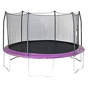 Amazon Com 15 Trampoline With Enclosure Toys Amp Games
