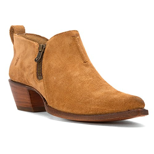 Boot Moto Mujer Western Suede Shootie FRYE Sacha Sand qU1gxP