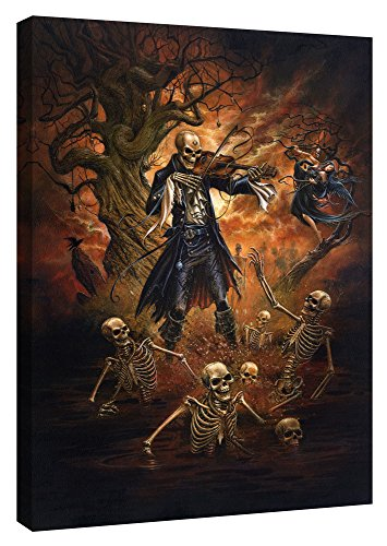 Epic Graffiti Danse Macabre by Alchemy Official Giclee Canvas Wall Art, 18