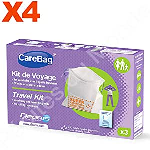 Kit Viaje bolsa para vomitar y gamuza tampón super ...