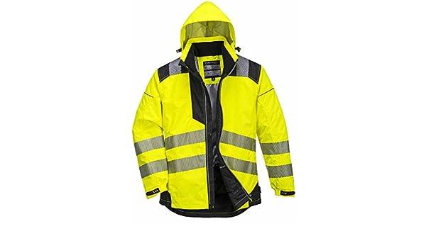 c081a937035 amarillo Portwest t400ybrxl Chaqueta Vision impermeable y alta visibilidad  XL