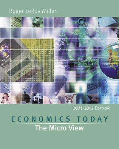 Download Economics Today: The Micro View (Series in Economics) PDF