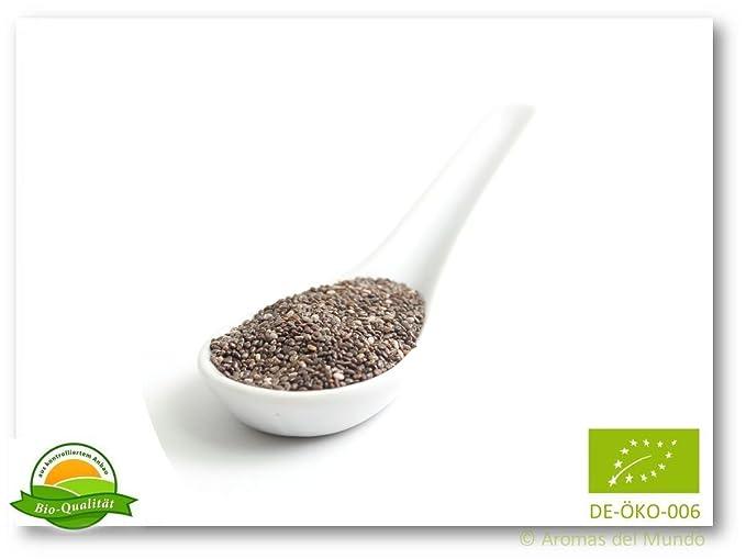 Aroma natural Chia semillas negra y blanca (orgánica) 250 g