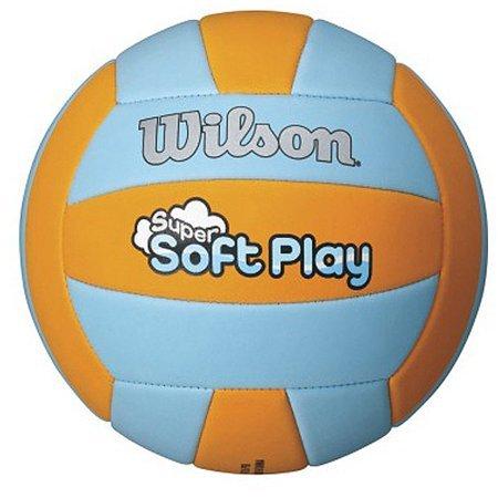Wilson Soft Play - Balón de Voleibol para Exteriores, Anaranjado ...