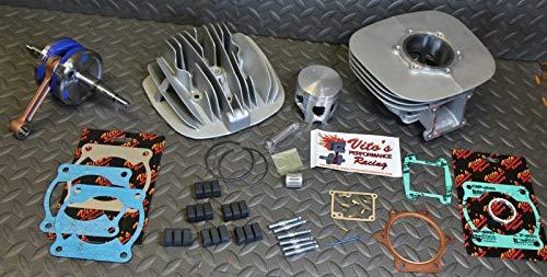 Blaster Yamaha Yfs200 Vito's Big Bore 240Cc Cylinder Kit / 3Mm Stroker Crank