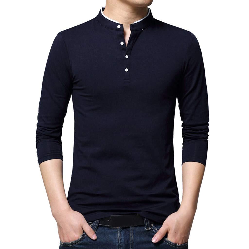 AopnHQ Mens Casual Loose Print Long Sleeve Hooded Sweater Top