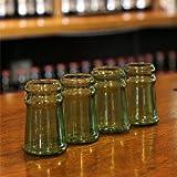 Thumbs Up! Bottleneck Shot Glasses, Set of 4
