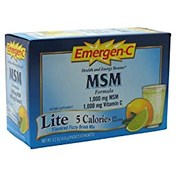 Alacer Emergenc Msm 30ct