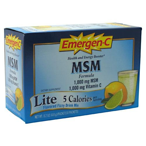 Alacer Emergenc Msm 30ct by Emer'gen-C