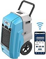 ALORAIR Smart WiFi Storm Pro Industrial Commercial Dehumidifier with Pump, 85 PPD AHAM, Compact, Portable, Auto Shut...
