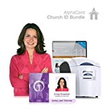Church ID Card Printer System for Religious Organizations: Everything you need for your Church ID's: AlphaCard printer, Church ID design software, ID Supplies