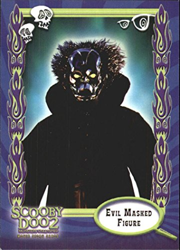2004 Scooby Doo 2 Monsters Unleashed #13 Evil Masked Figure (Scooby Doo 2 Monsters Unleashed Monsters Cards)
