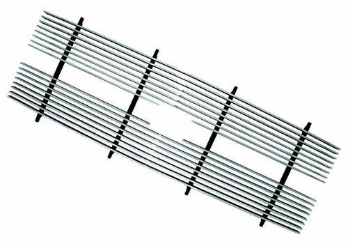 Set Billet Aluminum Grille - IPCW CWBG-8893CK Polished Aluminum Cut-Out Billet Grille Set