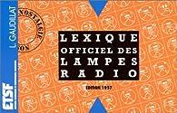 Lexique officiel des lampes radio par Louis Gaudillat