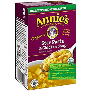 Annie's Star Pasta & Chicken Soup 17 oz Aseptic Pk (pack of 8)
