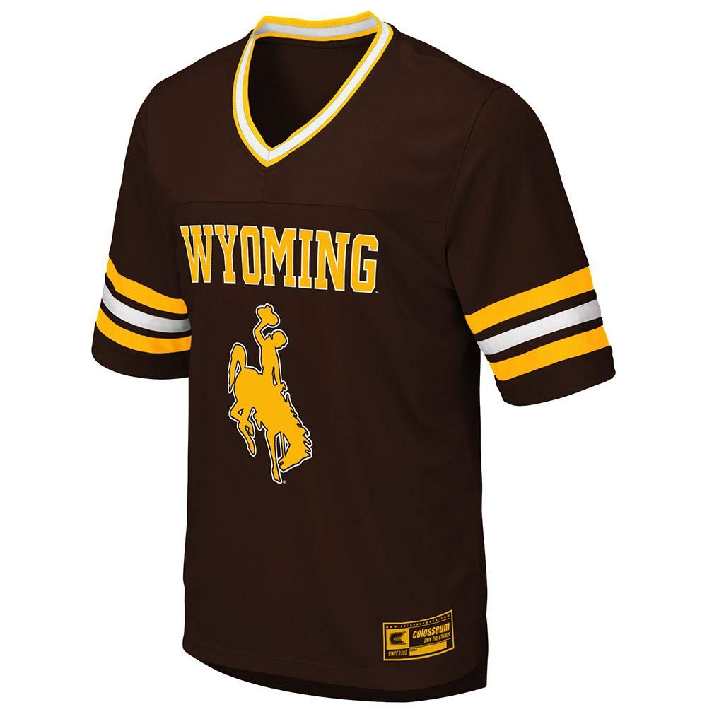 526943e3ebe Amazon.com : Mens Wyoming Cowboys Football Jersey : Sports & Outdoors
