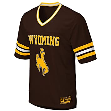 the latest 3778f d16dc Amazon.com : Mens Wyoming Cowboys Football Jersey : Sports ...